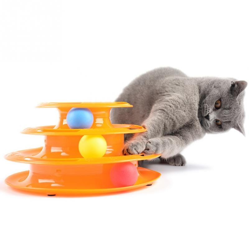 cheap kitten game with balls ideal original gift free shipping