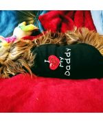 t-shirt pour chien strass