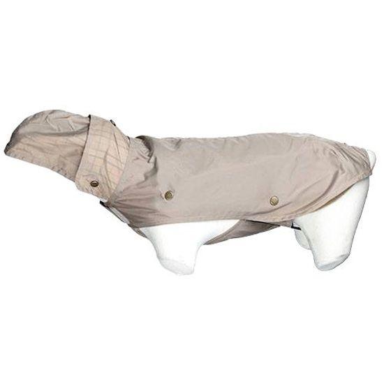 impermeable beige pour chien
