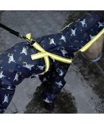 waterproof dog clothes with paws