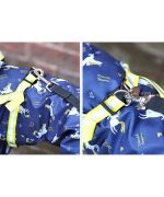 rain suit for dog with paws