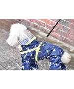 rain gear with paws for dog